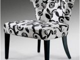 Small Black Accent Chair Black and White Accent Chair Visualizeus