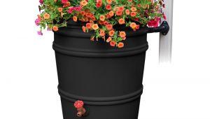 Small Decorative Rain Barrels Rain Barrels Watering Irrigation the Home Depot