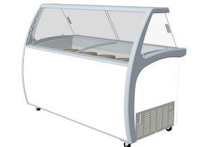 Small Display Bathtubs Gelato Displays