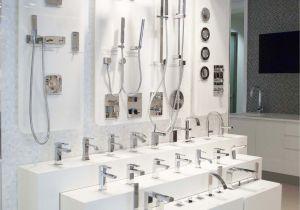 Small Display Bathtubs Porcelanosa Showroom by Rabaut Design associates