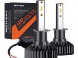 Small Flat Led Lights Infitary Led Headlight Bulbs H1 Conversion Kits Single Beam Auto