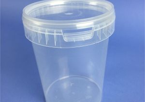 Small Plastic Bathtubs Small Volume Round Clear Tub 1000ml Sv1000c Bristol