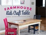 Small Table and Chairs for toddlers Uk Kids Farmhouse Table Let S Be Realistic Diy Projects Pinterest