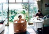 Small Wood Bathtubs Japanese Wooden Ofuro Tub