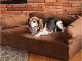 Snoozer Overstuffed sofa Pet Bed Reviews Snoozer Luxury Dog sofa Dog Couch Microsuede Fabric