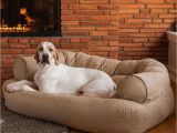 Snoozer Overstuffed sofa Pet Bed Reviews Snoozer Overstuffed Luxury Dog sofa Microsuede Fabric