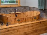Soaking Bathtub Wooden Wood soaking Tub