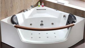 Soaking Whirlpool Bathtubs Eago 59 In Acrylic Fset Drain Corner Apron Front