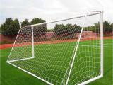 Soccer Goals for Backyard 12×6 Ft Full Size Football Net Match for soccer Goal Post Sports