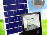 Solar Panel Flood Lights 2018 solar Floodlight Lawn Lights Wall Lamp 100w Outdoor Flood