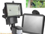 Solar Powered Flood Lights Motion Sensor High Quality solar Panel Led Flood Security Garden Light Pir Motion