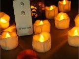 Solar Powered Tea Lights Battery Operated Votive Led Tea Lights with Remote Control Factory