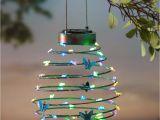 Solar String Lights Target Hanging solar Lantern Decoration butterfly solar Accents Yard