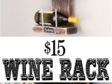 Spray Bottle Wall Rack Wine Rack Diy Pinterest Wine Rack Wine and Easy Diy Projects