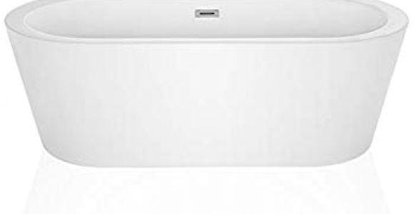 "Stand Alone Acrylic Bathtubs Bathtub Magic 59"" Made In Usa Modern Relaxing Freestanding"