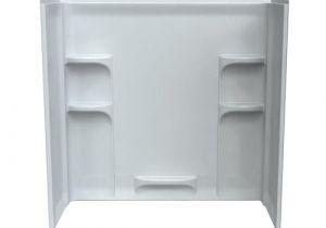 Standard Bathtub Surround Dimensions American Standard Ovation 30 In X 60 In X 58 In 3 Piece