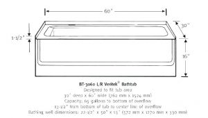Standard Bathtub Surround Dimensions Standard Size Bathtub with Jets – Hotelarcadia