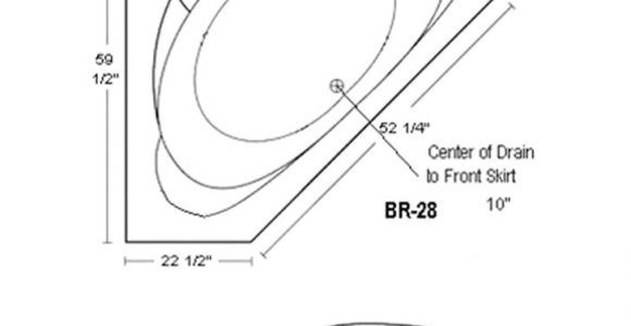 Standard Size Whirlpool Bathtub Corner Bathtubs Dimensions