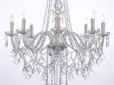 Star Shaped Light Fixture Crystal Chandelier Lighting 33ht X 28wd 8 Lights Fixture Pendant