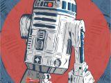 Star Wars Lights Bb 8 R2 D2 Fan Art Created by Karl Smith Star Wars