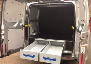 Steel Racking for Vans ford Transit Custom L2 sortimo Xl Drawer System and False Floor