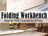 Step 2 tool Bench Diy Folding Workbench Remodel Ideas Pinterest Garage Diy