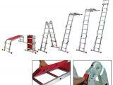 Step 2 tool Bench Youngman Diy Aluminium 11 Feet Folding Wall Standing Step Ladder