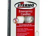 Sterno Candle Lamp Texarkana Amazon Com Sterno Emergency Candles Mini Columns 6 Pack Kitchen