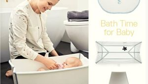 Stokke Baby Bathtub Flexi Bath Heat White Bath with Stokke