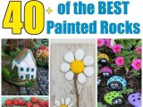 Stone Art for Gardens Over 40 Of the Best Rock Painting Ideas Including Animals Wall