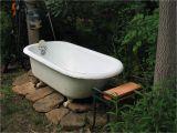 Stone Outdoor Bathtub Really Cool Bathtubs