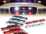 "Strobe Light Bar for Trucks Amazon Com Dt Motoa""¢ Red White 54x Led Emergency Service Vehicle"