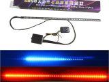 Strobe Light Bar for Trucks Car Styling Waterproof 48 Led Rgb Flash Car Strobe Knight Rider