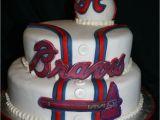Sugar Baseball Cake Decorations Braves Having Cake and Eating It to Pinterest Brave Cakes