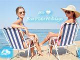 Sun Tanning Beach Chairs Vacation Boavista Beach Capeverde Holiday Resort Boa Vista