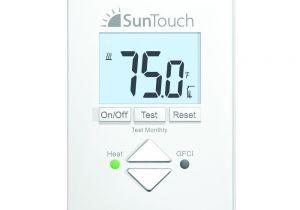 Sun touch Heated Floor Mats Suntouch Floor Warming Sunstat Core Non Programmable Floor Heating