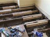 Suspended Timber Floor Joist Hangers Sistering Floor Joists Youtube