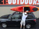 Swiss Gear Double Kayak Roof Rack Kayak Cartopping Using A Basic Rack or Foam Blocks Youtube