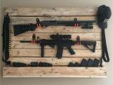 Tactical Gun Rack for Wall Pallet Gun Rack Puppyzolt Pinterest Guns Pallets and Weapons