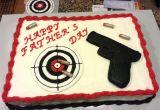 Target Cake Decorations Gun Cake Gun is A Sugar Cookie Decorated with Royal Icing Target