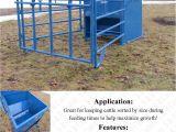 Tarter Farm and Ranch Equipment Goat Hay Rack 5 Ft Calf Creep Feeder Box Cattle Self Feeding Boxes Pinterest