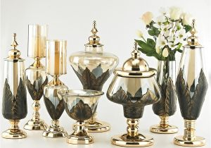 Tea Light Urns Peandim Elegant Bronze Candle Holders Home Decorations Candle