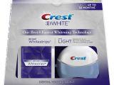 Teeth Whitening Light Reviews Amazon Com Crest 3d White Whitestrips Supreme Flexfit Teeth