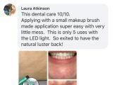 Teeth Whitening Light Reviews Primal Life organics Led Natural Teeth Whitening System Primal