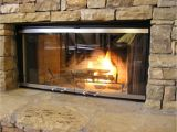 Temtex Fireplace Doors Fireplace Replacement Glass for Prefab Fireplace Doors Brick Anew