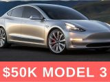 Tesla Roof Rack Model 3 Tesla Model 3 Will Cost Around 50k Updated Almost 10k Reservation