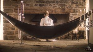 The Hammock Bathtub the Suspended Hammock Bath Made Of Carbon Fibre the