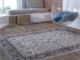 Thin area Rugs Beige Traditional Distressed 5 X 7 53 X 73 area Rug Modern