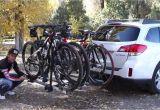 Thule Hitch Bike Rack Subaru Crosstrek Subaru and Thule Bike Rack Review Youtube
