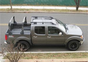 Thule Kayak Racks for Trucks Very Good Looking Nissan Frontier with Bed Rack and Roof Rack New